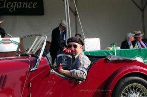 '65 Morgan Plus 4, Greenwich Concours Best English Sports Car '60-'65 Restored by Michael Maddalena